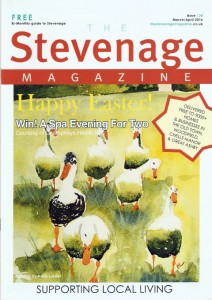 Stevenage Magazine Cover